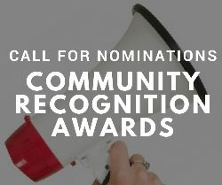 Call for Nominations! Community Recognition Awards