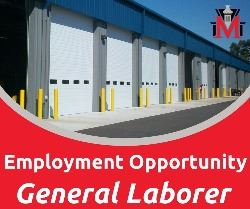 Employment Opportunity General Laborer
