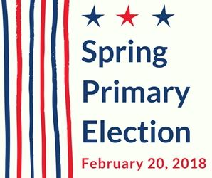 Sprig Primary Election February 20, 2018