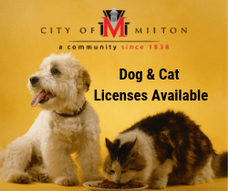 Dog & Cat Licenses Available