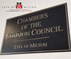Photo of Chambers of the Common Council Sign