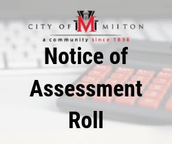 Notice of Assessment Roll