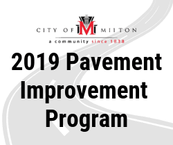 2019 Pavement Improvement Program
