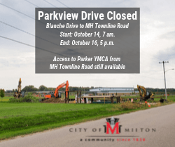 Parkview Drive Closed