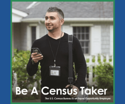 Be a Census Taker - Photo of Male Census Taker