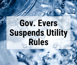 Gov. Evers Suspends Utility Rules