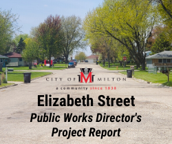 Elizabeth Street Public Works Director's Project Report