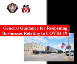 General Guidance for Reopening Businesses Relating to COVID-19