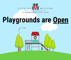 Playgrounds are Open