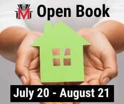 Open Book, July 20 through August 21