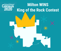 Milton WINS King of the Rock Contest