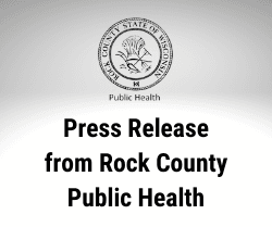 Press Release from Rock County Public Health