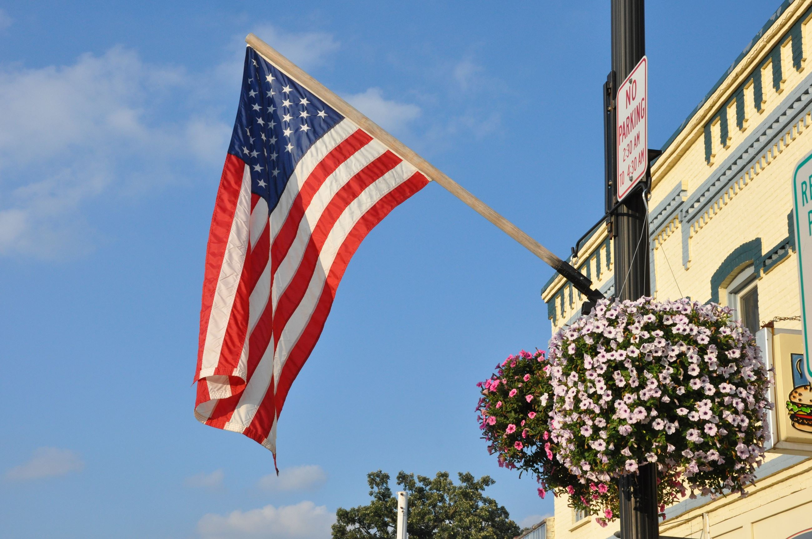Flag Downtown - Photo Credit Lee Ann Hare