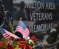 Milton Area Veterans Memorial - Photo Credit Lee Ann Hare