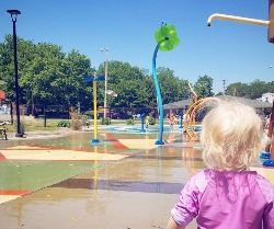 Splash Pad - Photo Credit Inga Cushman
