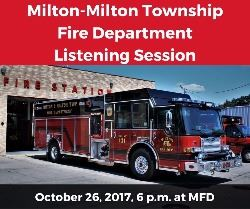 Milton-Milton Township Fire Department Listening Session