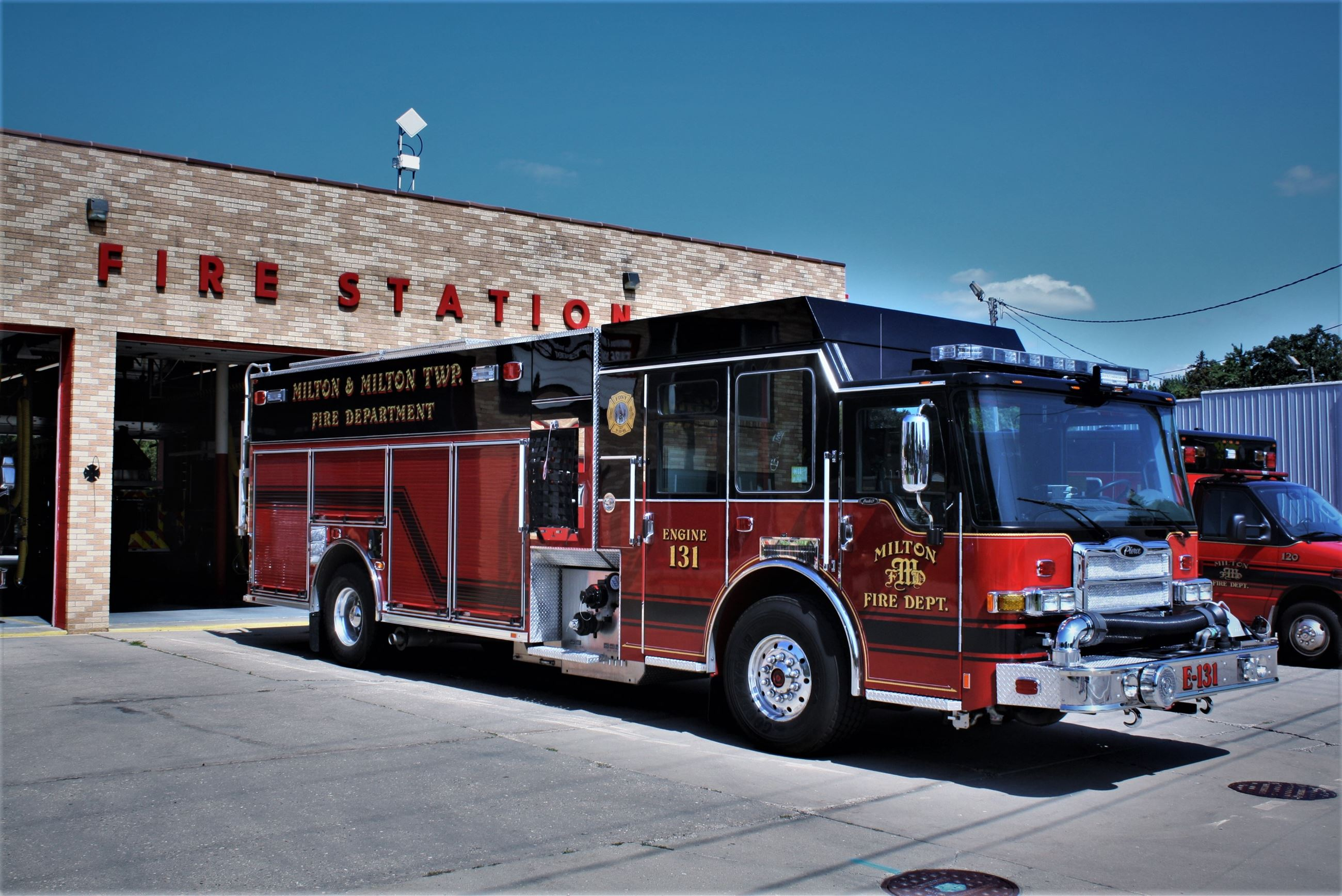 Fire Truck - Photo Credit Matt Landherr