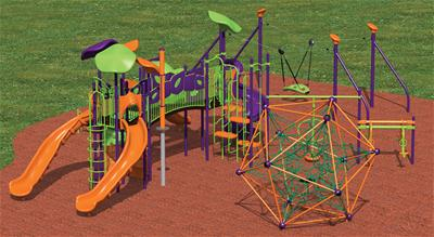 Crossridge Park Playground Option 4